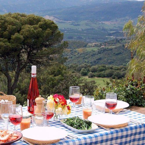 terrace lunch
