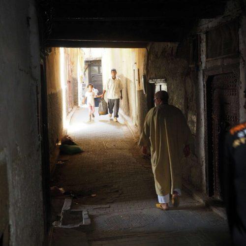 Fes alleyway